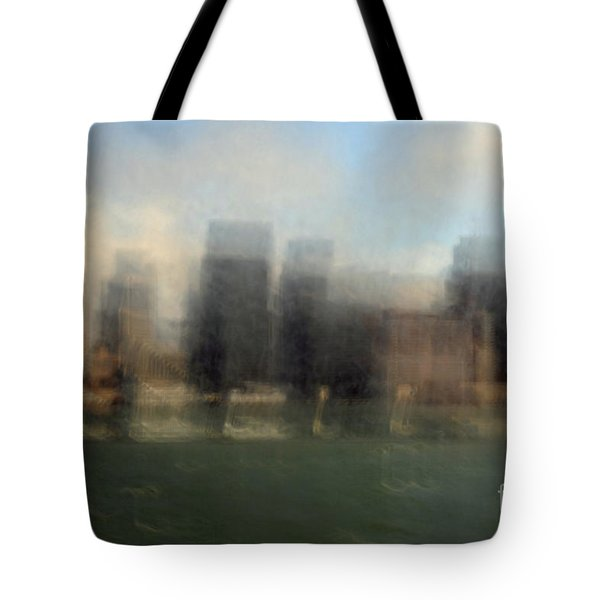 city view through window Tote Bag by Catherine Lau