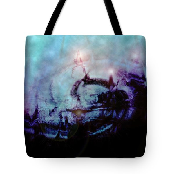 Cityscapes Tote Bag by Linda Sannuti