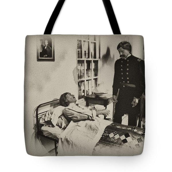 Civil War Hospital Tote Bag by Bill Cannon