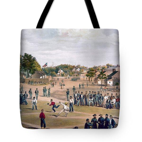 Civil War: Union Prisoners Tote Bag by Granger