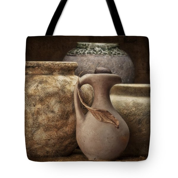 Clay Pottery I Tote Bag by Tom Mc Nemar