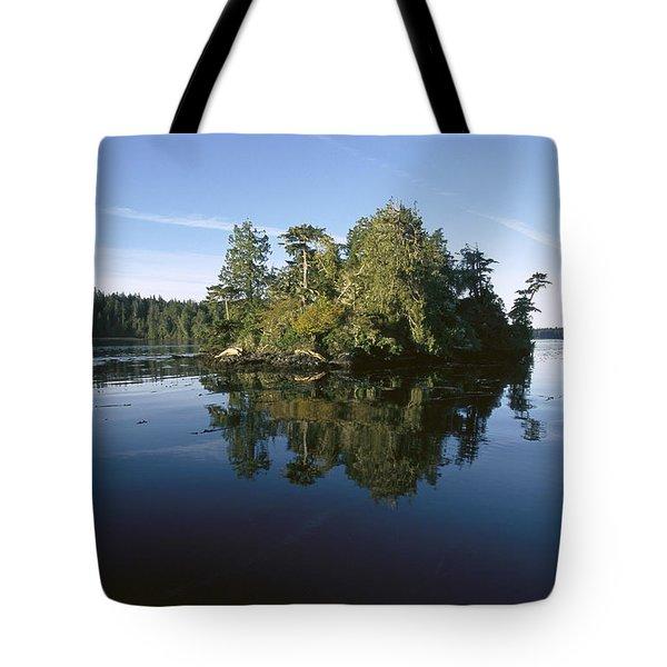 Clayoquot Sound Vancouver Island Tote Bag by Flip Nicklin
