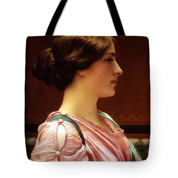 Cleonice Tote Bag by John William Godward