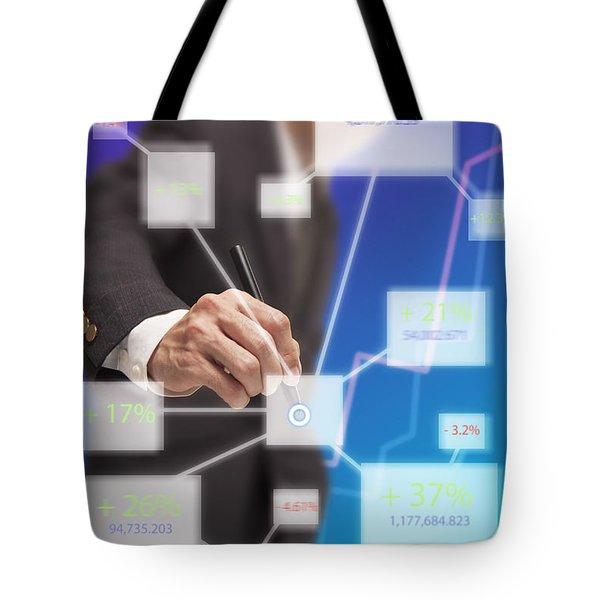 Click On Board Tote Bag by Atiketta Sangasaeng