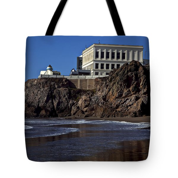 Cliff House San Francisco Tote Bag by Garry Gay