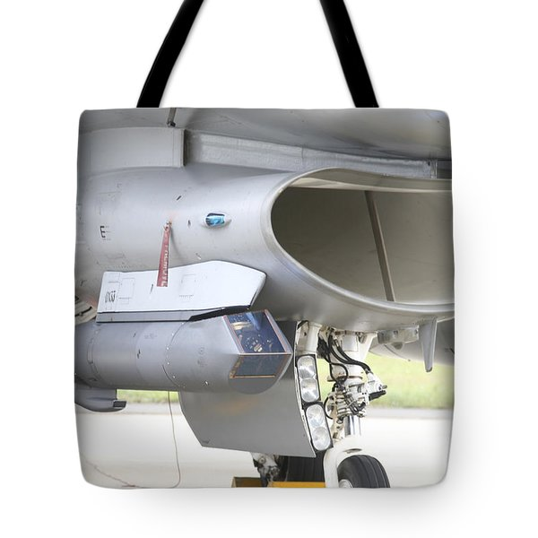 Close-up Of A Sniper Advanced Targeting Tote Bag by Timm Ziegenthaler