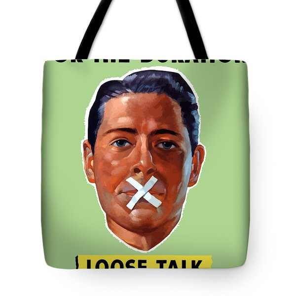Closed For The Duration Tote Bag by War Is Hell Store