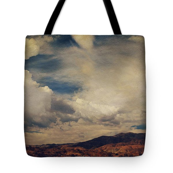 Clouds Please Carry Me Away Tote Bag by Laurie Search