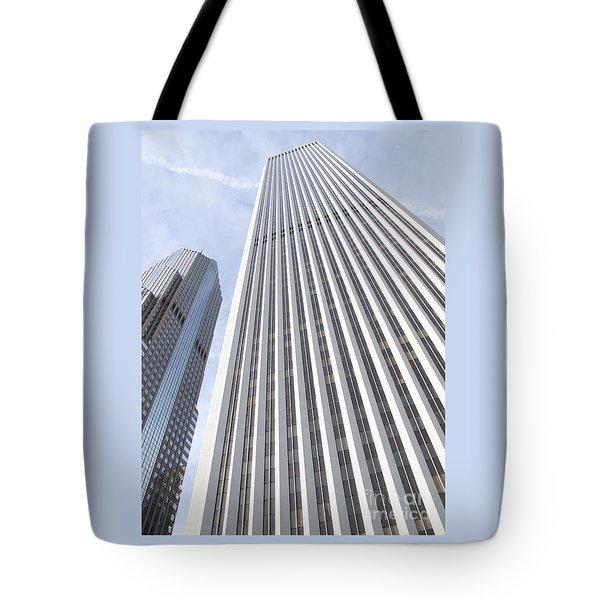 Cloudscraper Tote Bag by Ann Horn