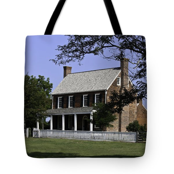 Clover Hill Tavern Appomattox Virginia Tote Bag by Teresa Mucha