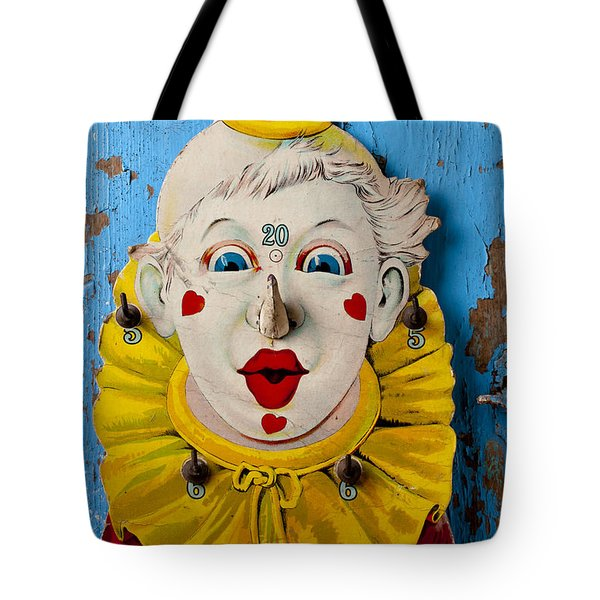 Clown toy game Tote Bag by Garry Gay