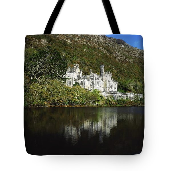 Co Galway, Kylemore Abbey Tote Bag by The Irish Image Collection