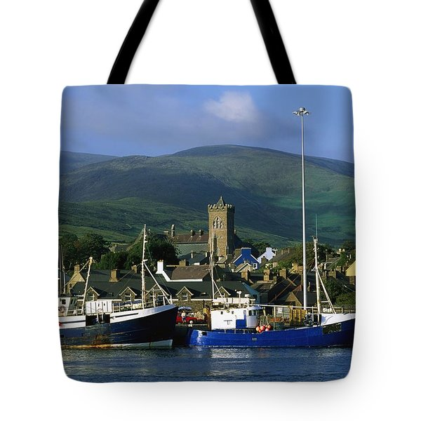 Co Kerry, Dingle Harbour Tote Bag by The Irish Image Collection