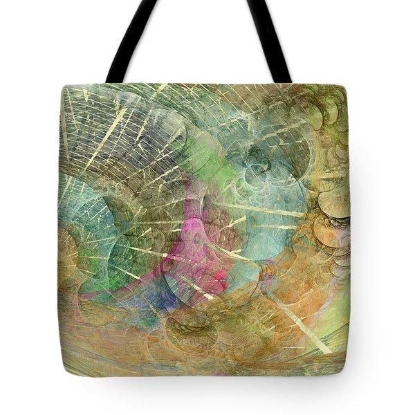 Coastal Cosine Gem  Tote Bag by Betsy Knapp