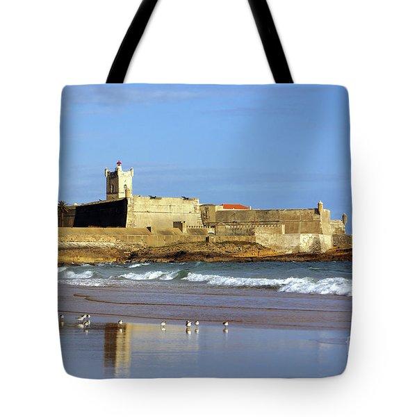 Coastal Defense Tote Bag by Carlos Caetano