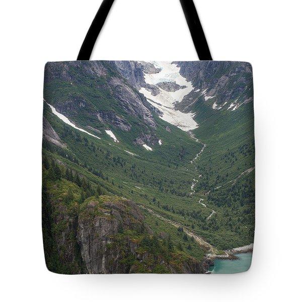 Coastal Flow Tote Bag by Mike Reid