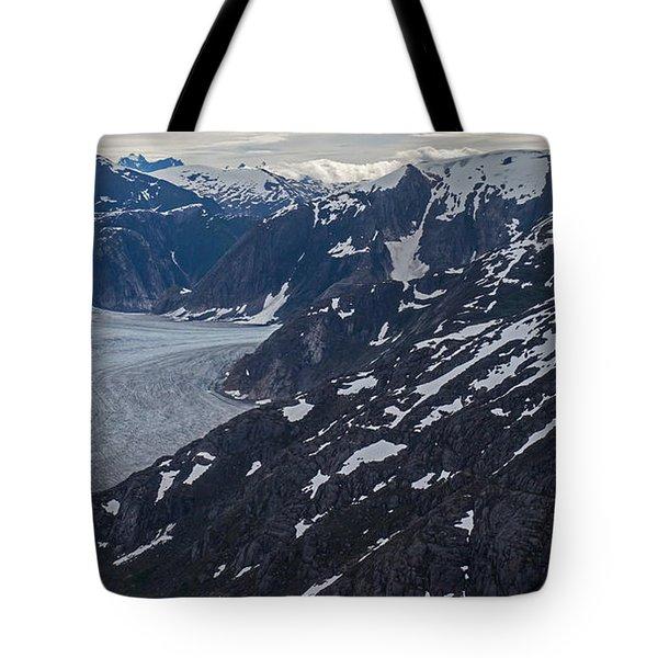 Coastal Range Awakening Tote Bag by Mike Reid