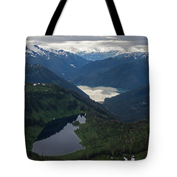 Coastal Range Tranquility Tote Bag by Mike Reid
