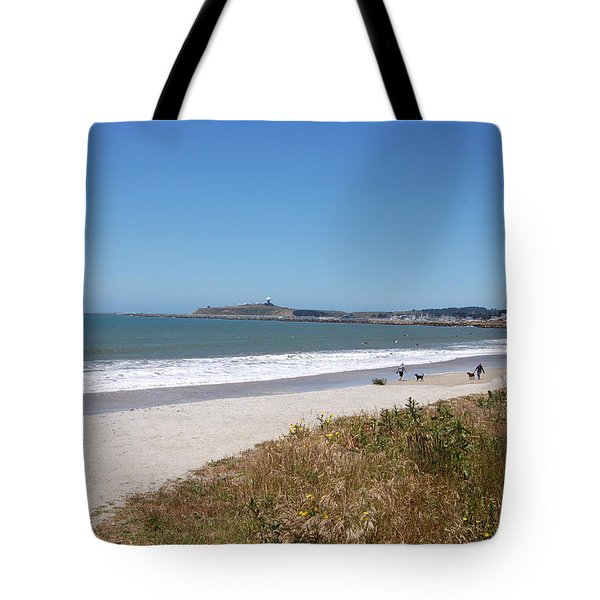 Coastside California Tote Bag by Carolyn Donnell
