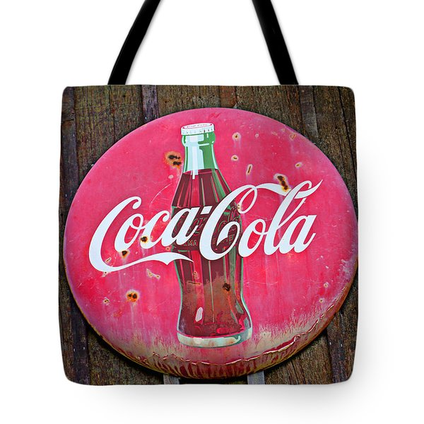 Coco Cola Sign Tote Bag by Garry Gay