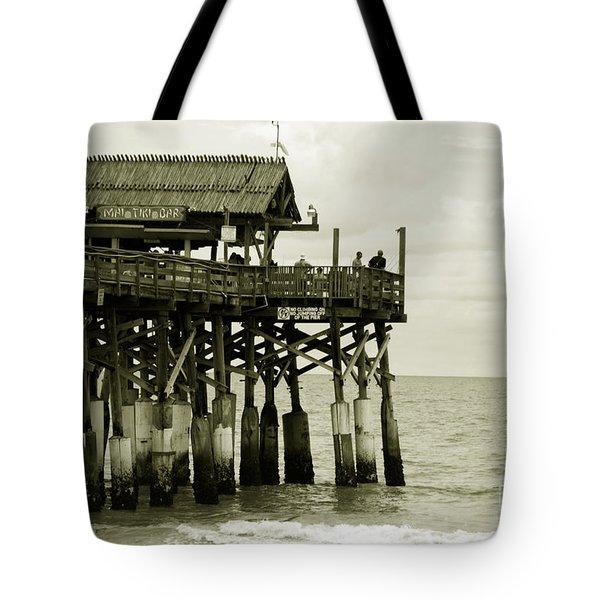 Cocoa Beach FL II Tote Bag by Susanne Van Hulst