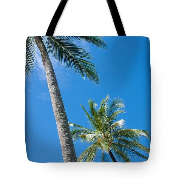 coconuts  Tote Bag by ATIKETTA SANGASAENG