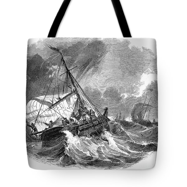 Cod Fishing, 1876 Tote Bag by Granger