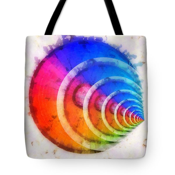 Code Of Colors 8 Tote Bag by Angelina Vick