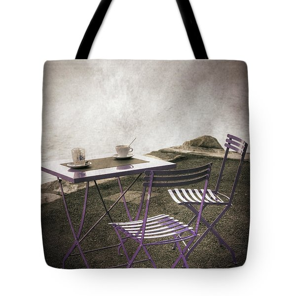 coffee table Tote Bag by Joana Kruse