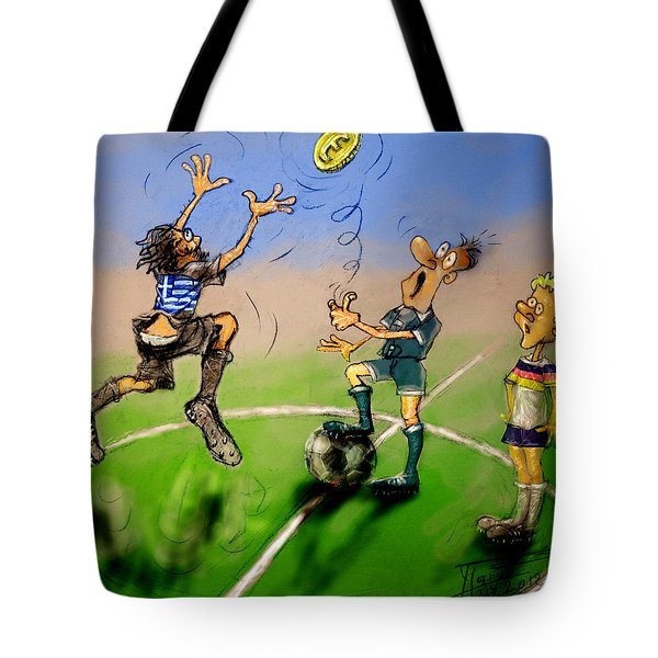 Coin Toss  Tote Bag by Ylli Haruni