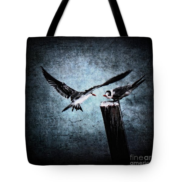 Colder Confrontations Tote Bag by Andrew Paranavitana