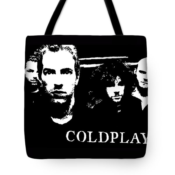 Coldplay Tote Bag by Paula Sharlea