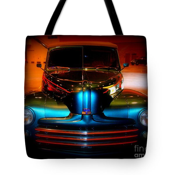 Collector Car Tote Bag by Susanne Van Hulst