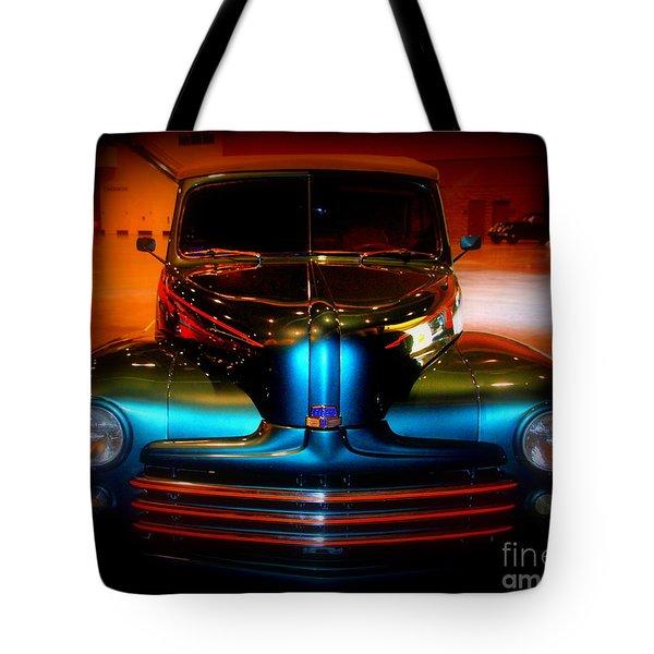 Collector Car Tote Bag by Susanne Van Hulst