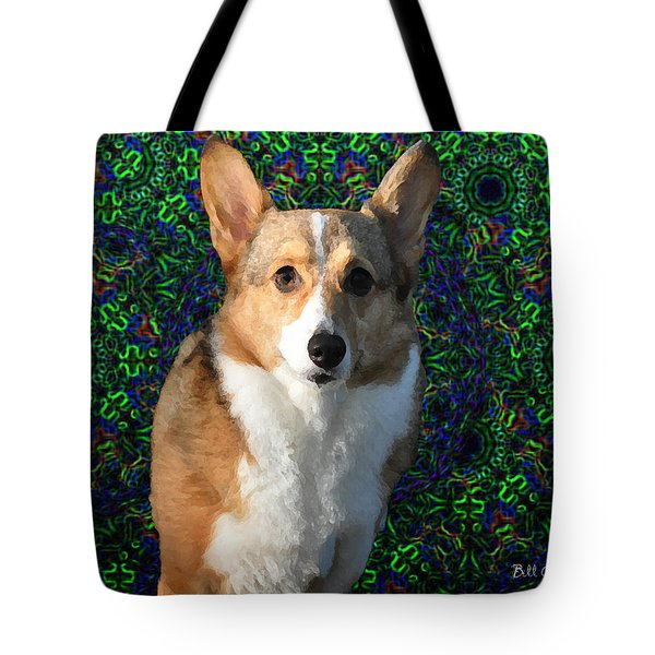 Collie Tote Bag by Bill Cannon