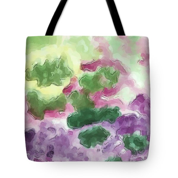 Color And Light In Monet's Garden Tote Bag by Heidi Smith