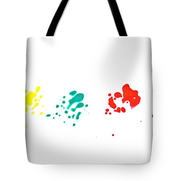 Color Splash Tote Bag by Joana Kruse
