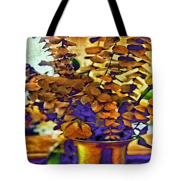 Colored Memories Tote Bag by Madeline Ellis