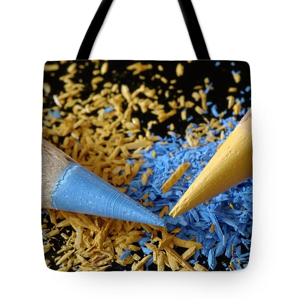 Colored Pencils Tote Bag by Frank Tschakert