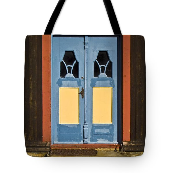 Colorful Entrance Tote Bag by Heiko Koehrer-Wagner