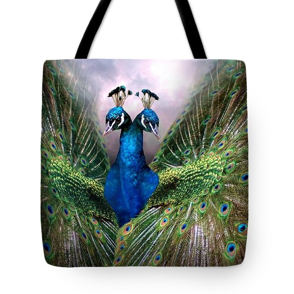 Colorful Friendship Tote Bag by Bill Stephens