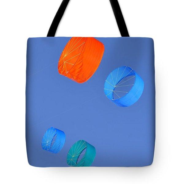 Colorful Kites Tote Bag by David Lee Thompson
