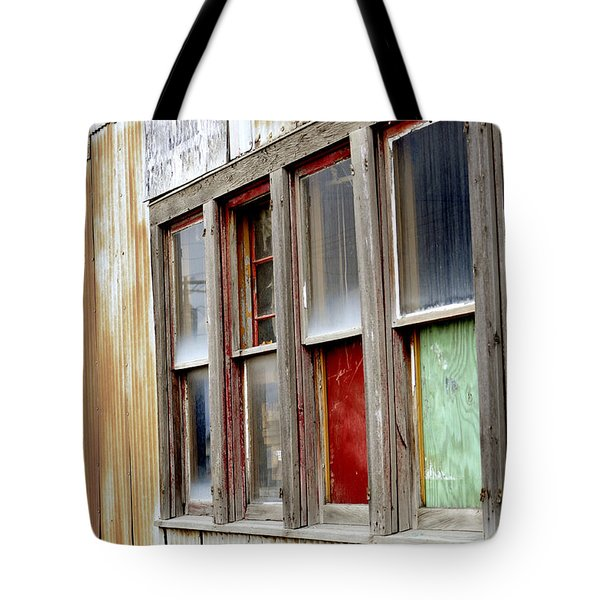 Colorful Windows Tote Bag by Fran Riley