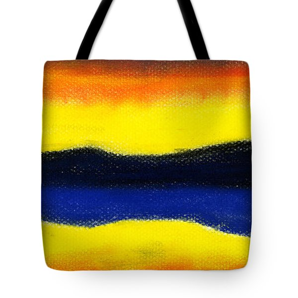 Colours of Sky Tote Bag by Hakon Soreide