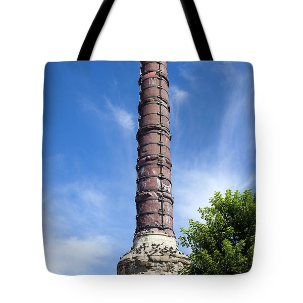 Column Of Constantine Tote Bag by Artur Bogacki