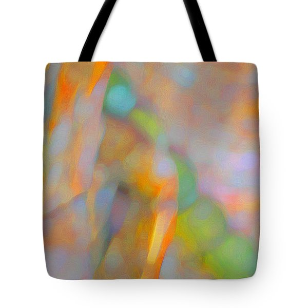 Tote Bag featuring the digital art Comfort by Richard Laeton