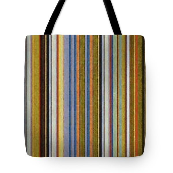 Comfortable Stripes Vlll Tote Bag by Michelle Calkins
