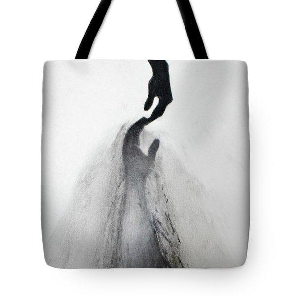 Coming Apart 3 Tote Bag by Michael Cross