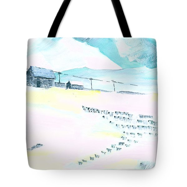 Coming Home Tote Bag by Anil Nene