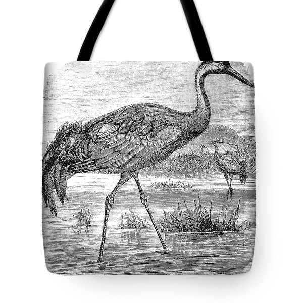 Common Crane Tote Bag by Granger